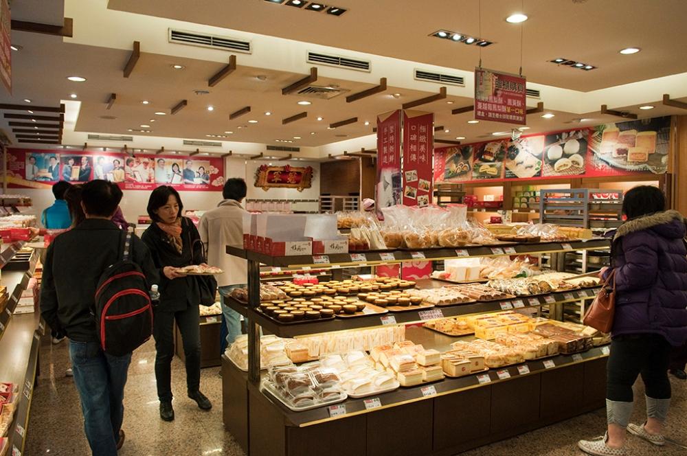 bakery market in taiwan